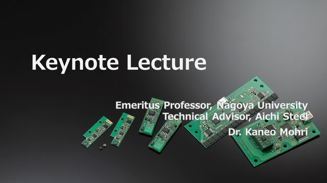 Keynote Lecture by Dr Mohri